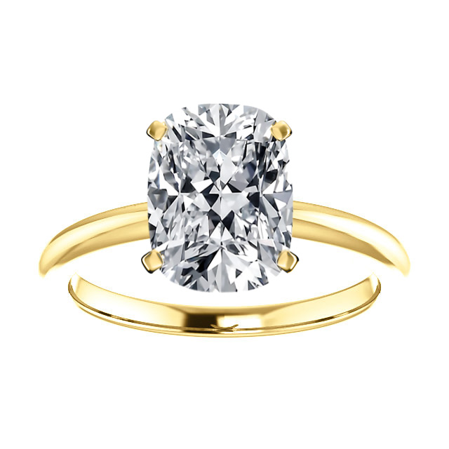 14K Yellow Gold 2 MM Comfort Fit